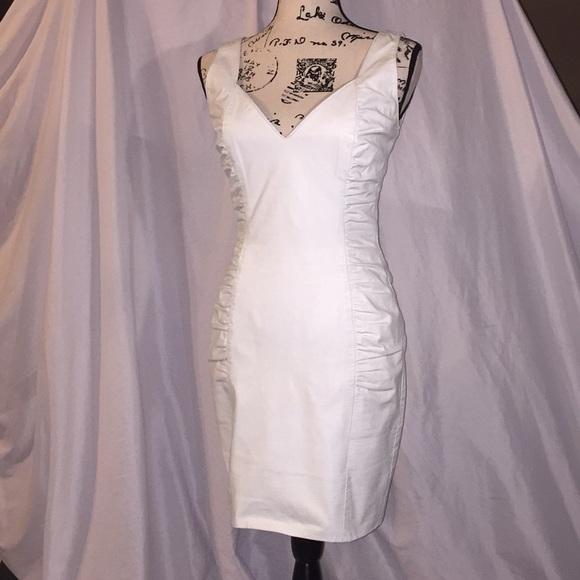 Wilsons Leather Dresses | Gorgeous White Leather Dress | Poshmark